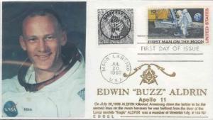 EdwinBuzzAldrinAstronautFDC1